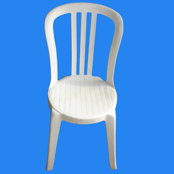 Kingston hireage wholesale liquor ltd armless white plastic chair - Witte plastic stoel ...